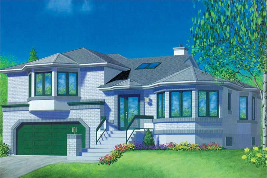 Main image for house plan # 12495