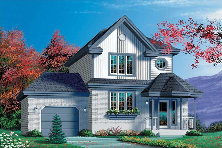 Main image for house plan # 12496