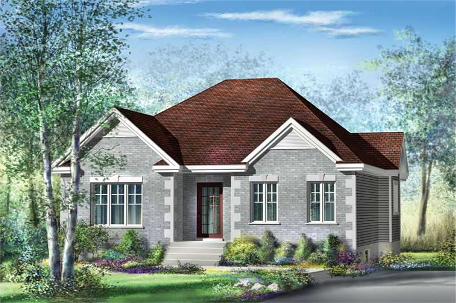 Main image for house plan # 12732