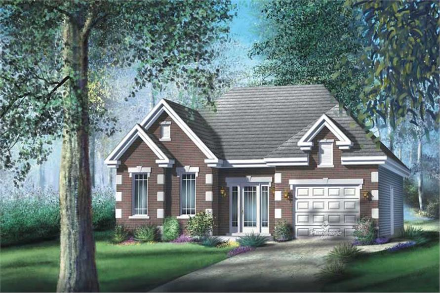 Main image for house plan # 12747