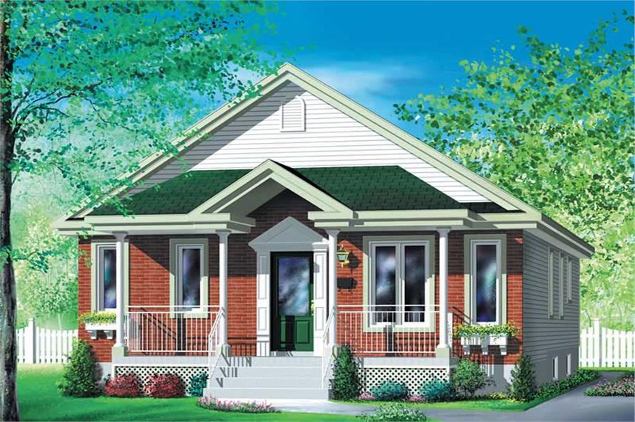 Main image for house plan # 12758