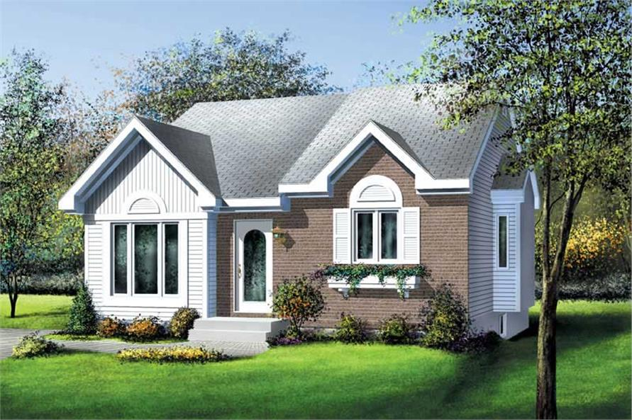 Main image for house plan # 12759