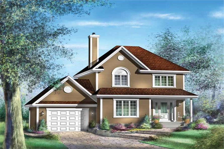 Main image for house plan # 12922