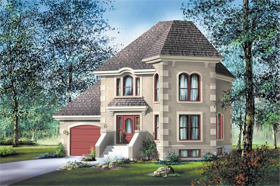 Main image for house plan # 12804