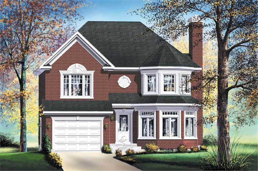 Main image for house plan # 12257