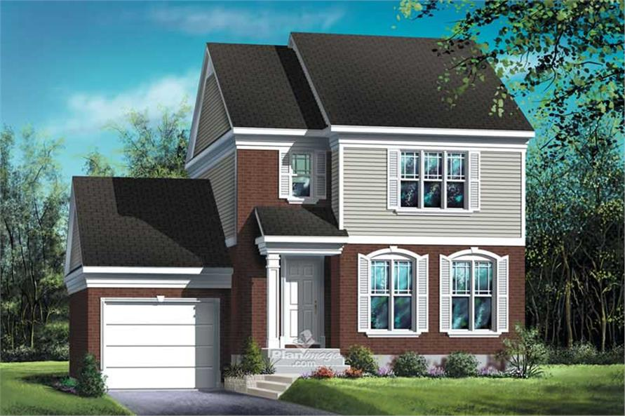 Main image for house plan # 12885