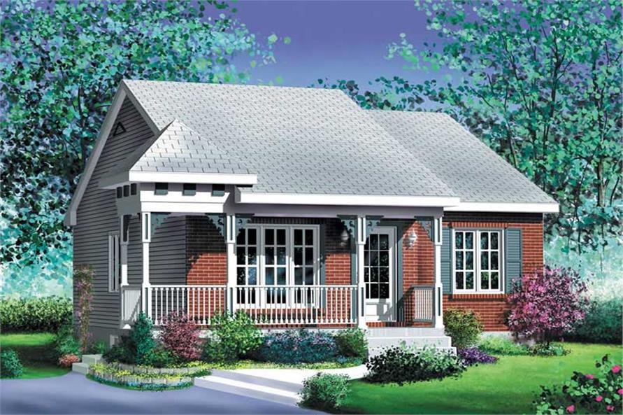 Main image for house plan # 12668