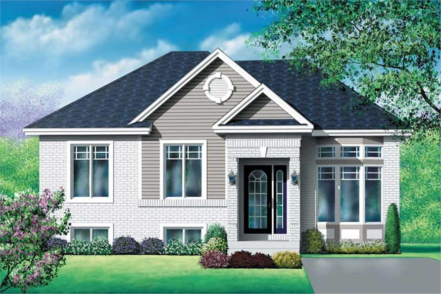 Main image for house plan # 12765