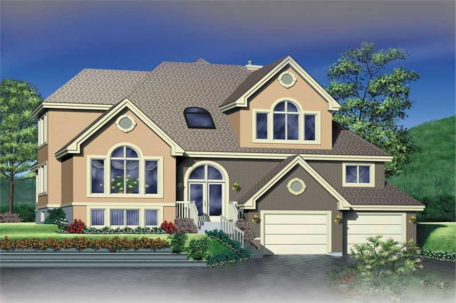 Main image for house plan # 12463