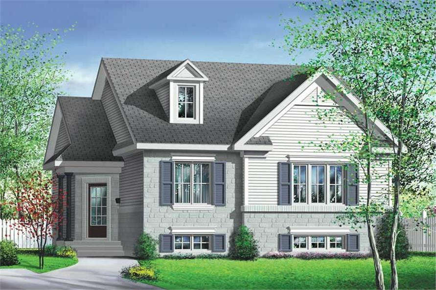 Main image for house plan # 12688