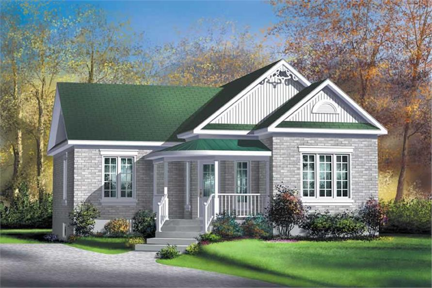 Main image for house plan # 12699