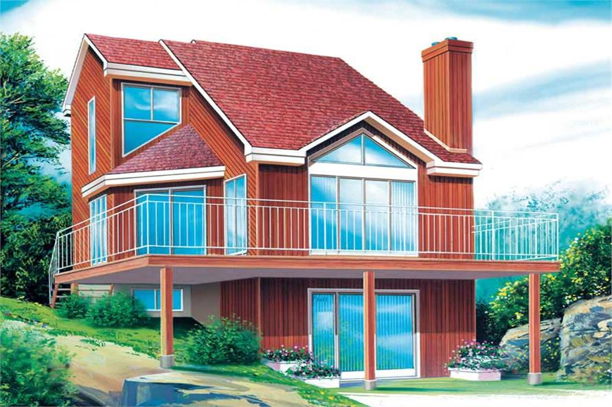 Main image for house plan # 12443