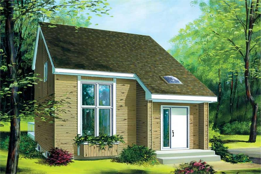Main image for house plan # 12447