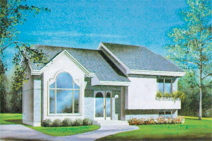 Main image for house plan # 12490