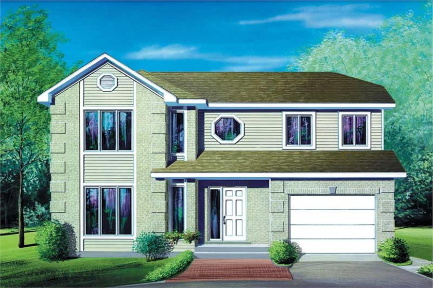 Main image for house plan # 12519