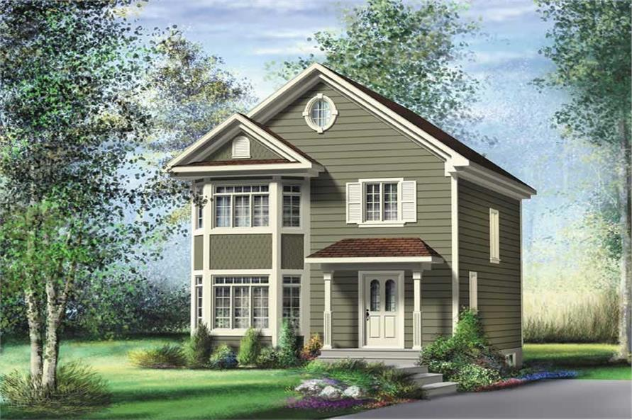 Main image for house plan # 12991