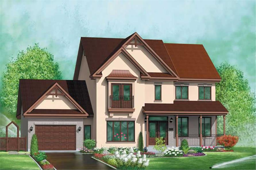 Main image for house plan # 12514