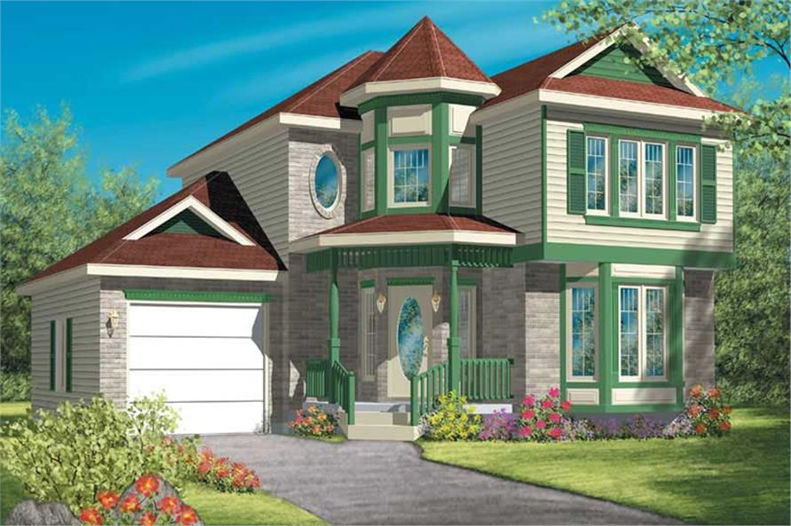 Main image for house plan # 12516