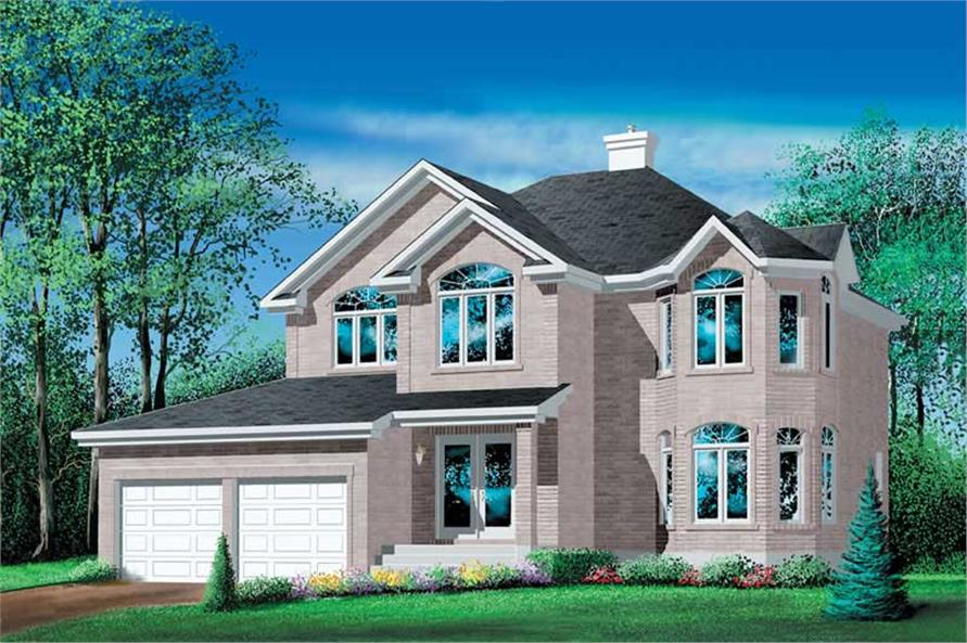 Main image for house plan # 12520