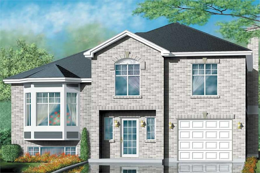 Main image for house plan # 12526