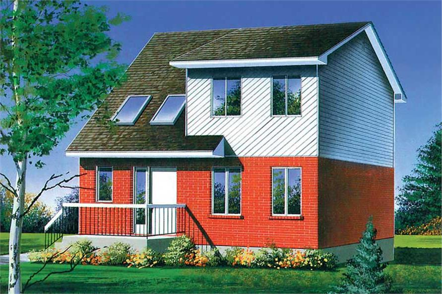 Main image for house plan # 12527