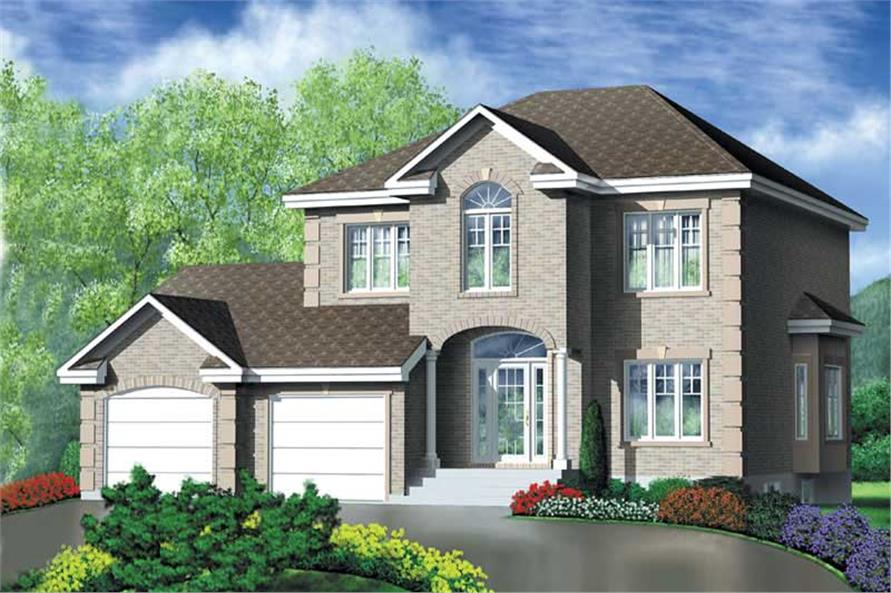 Main image for house plan # 12528