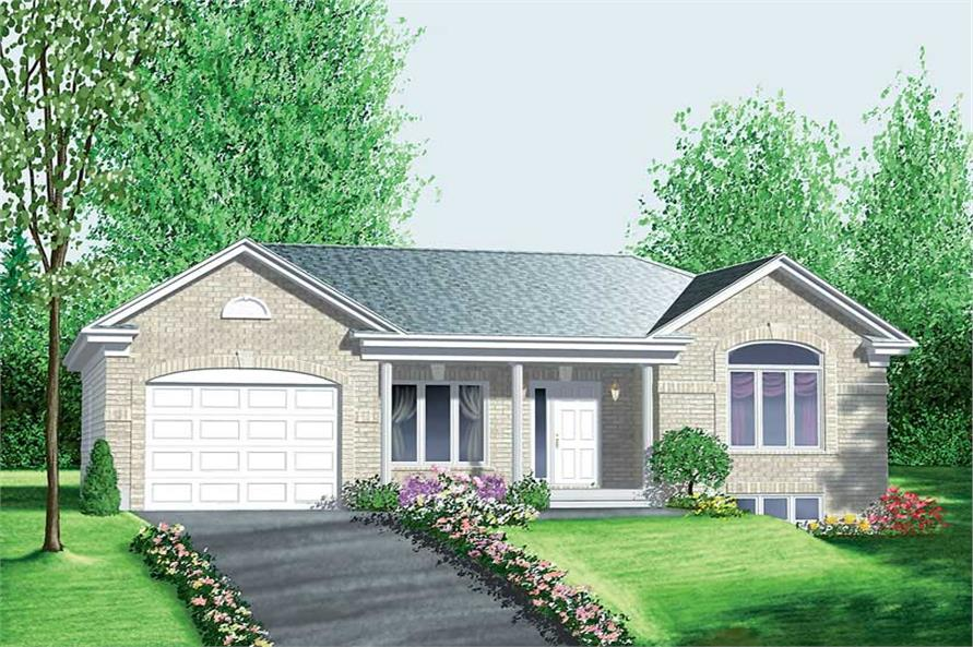 Main image for house plan # 12533