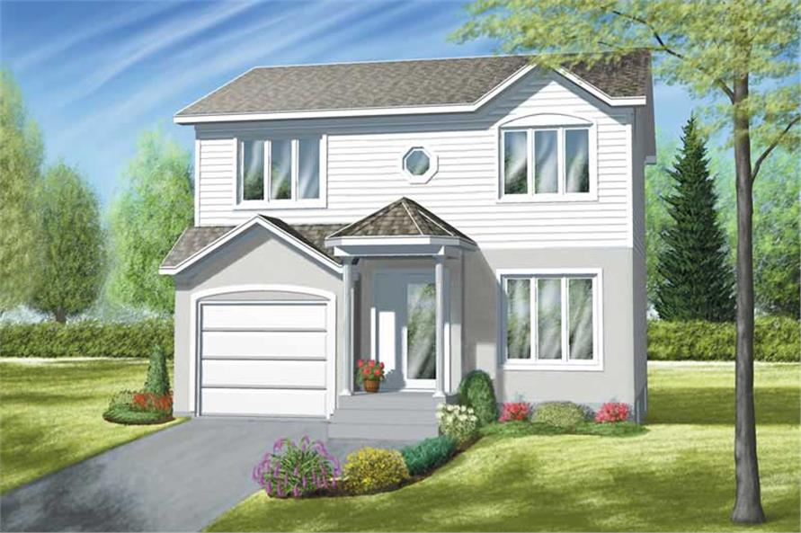 Main image for house plan # 12536