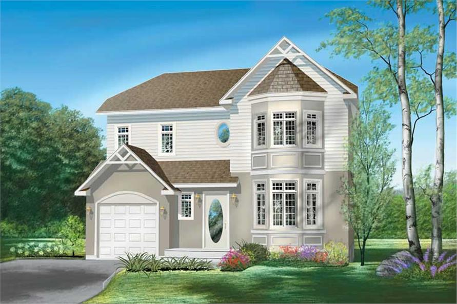 Main image for house plan # 12537
