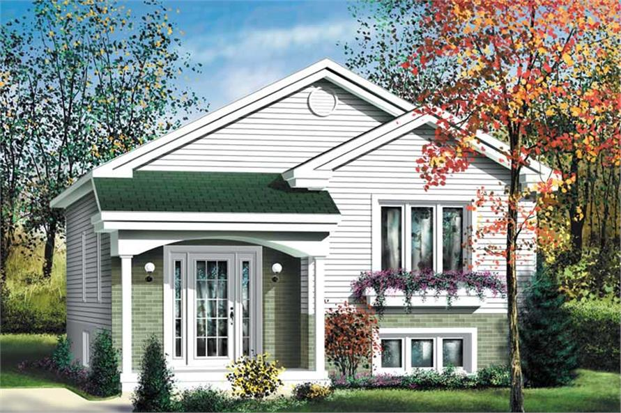 Main image for house plan # 12734