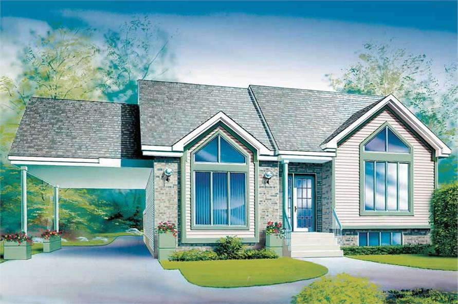 Main image for house plan # 12335