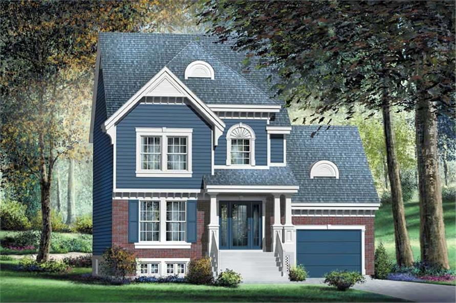 Main image for house plan # 12930