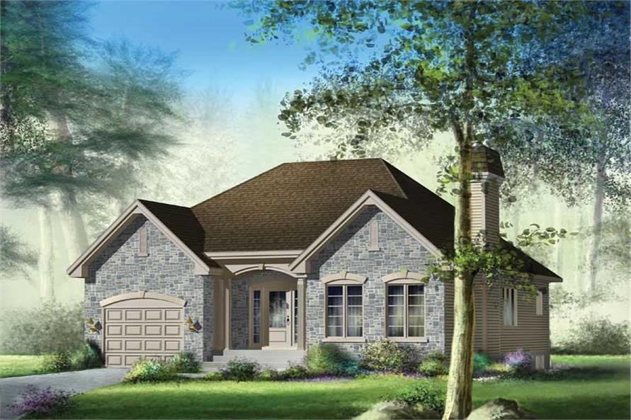 Main image for house plan # 12650