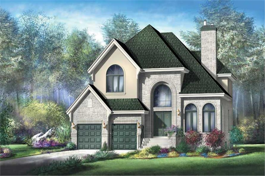 Main image for house plan # 12942