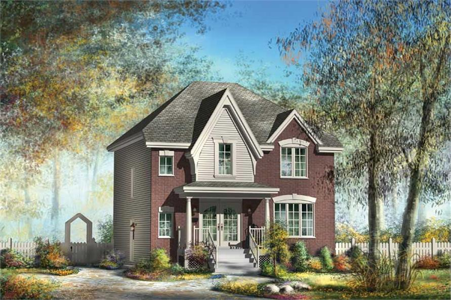Main image for house plan # 12960