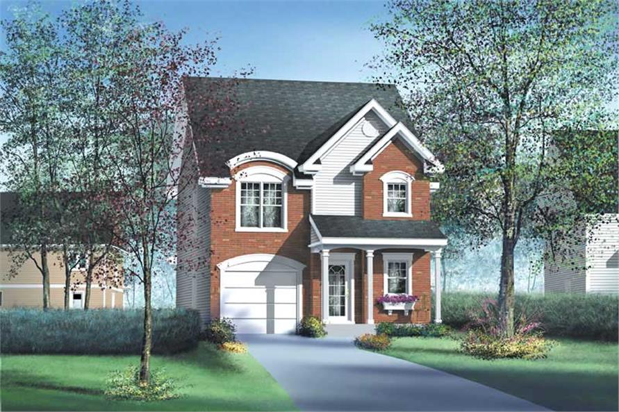 Main image for house plan # 12963