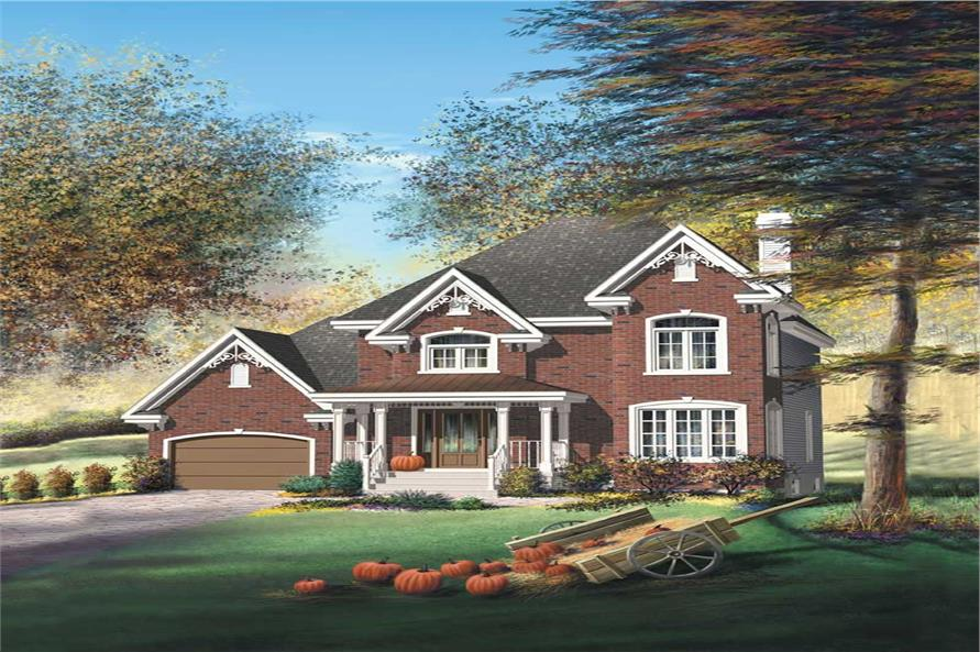 Main image for house plan # 12964