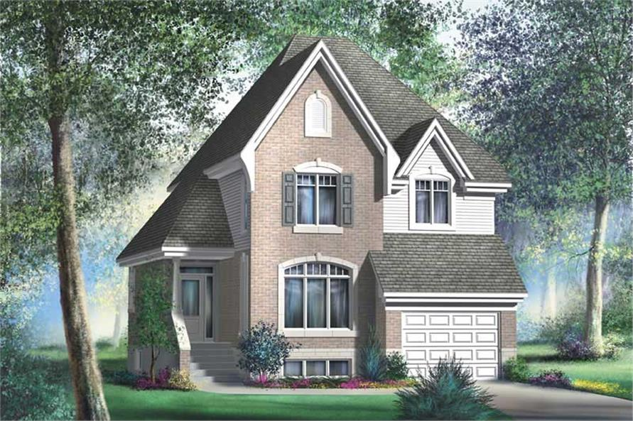 Main image for house plan # 12967