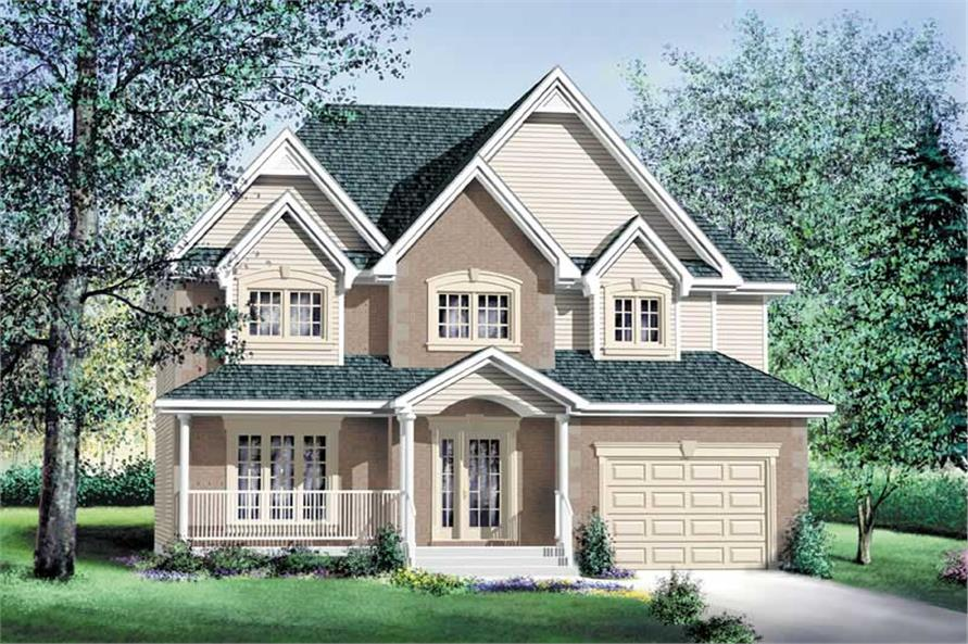 Main image for house plan # 12202