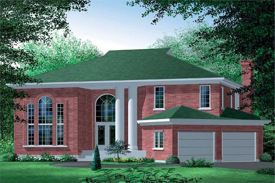 Main image for house plan # 12494