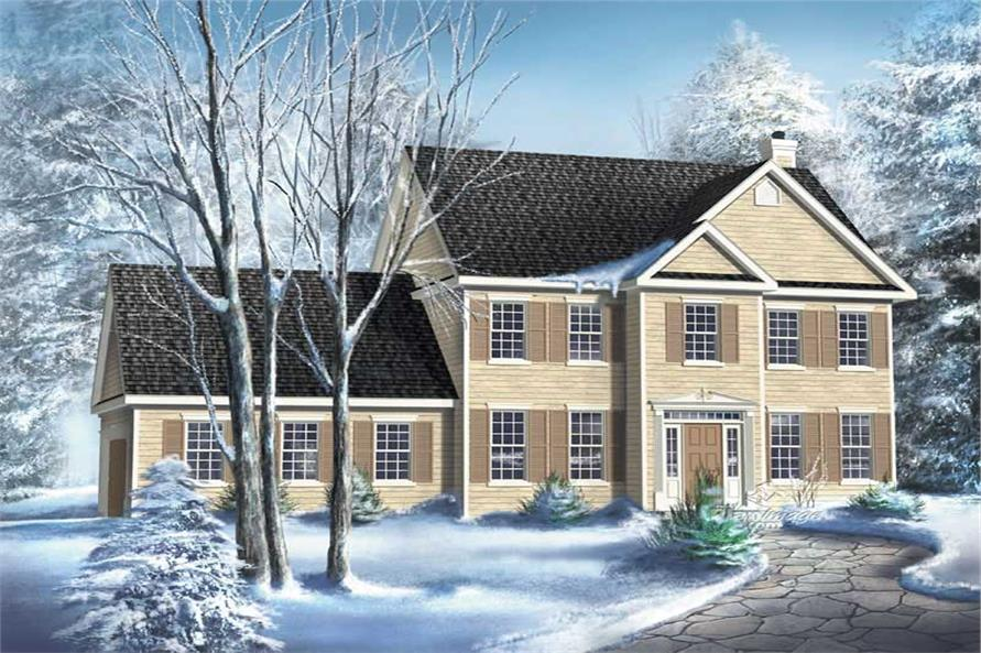Main image for house plan # 12231