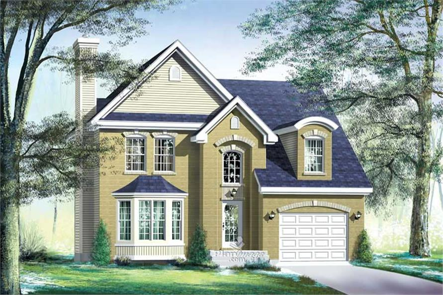 Main image for house plan # 12928
