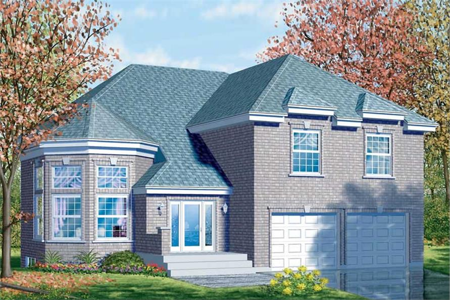 Main image for house plan # 12327