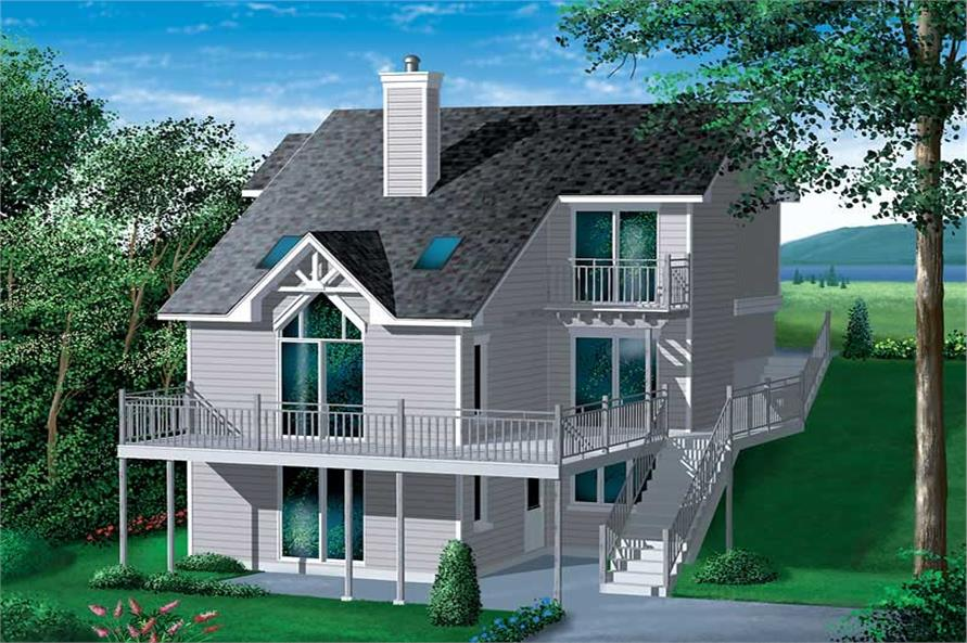Main image for house plan # 12434