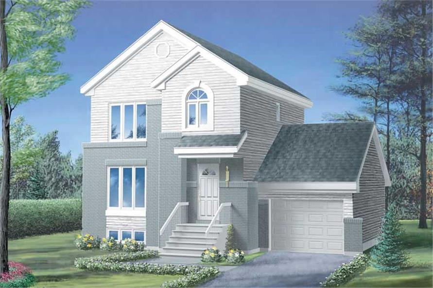 Main image for house plan # 12426