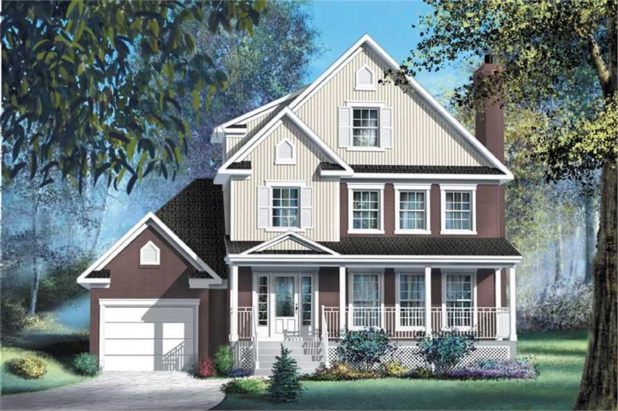 Main image for house plan # 12924