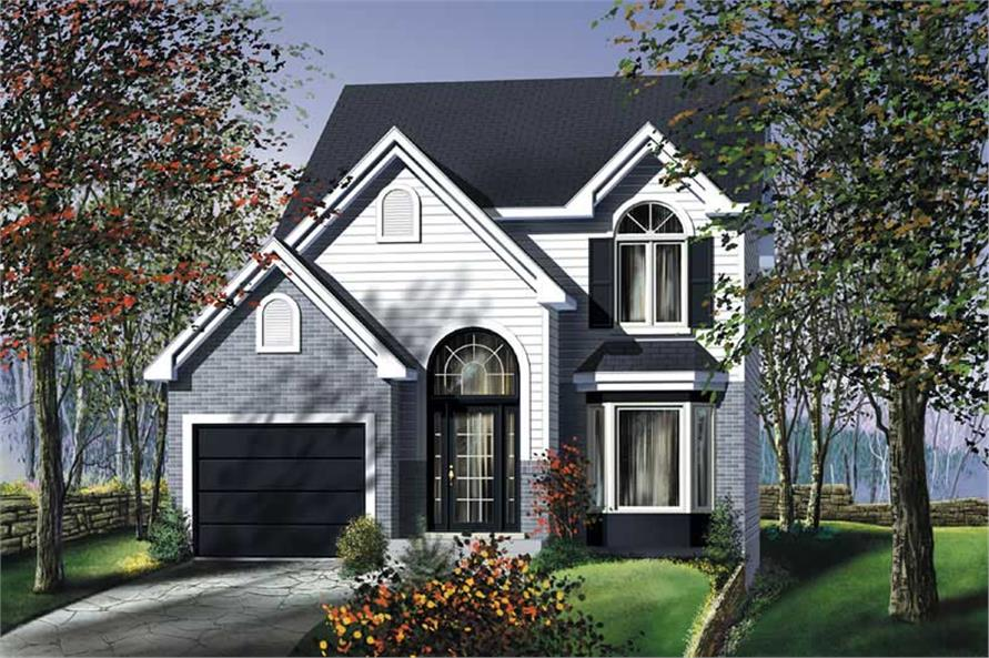 Main image for house plan # 12959
