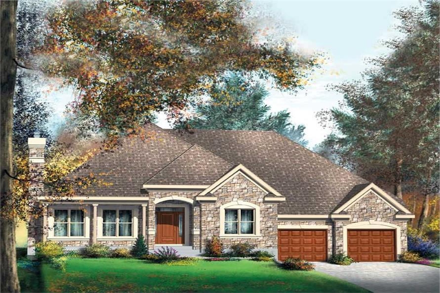 Main image for house plan # 12160