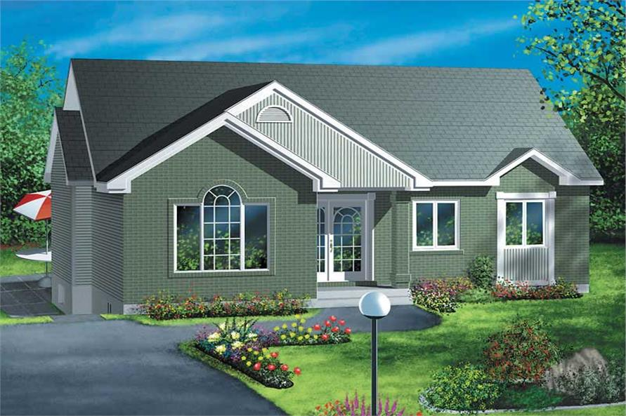 Main image for house plan # 12315