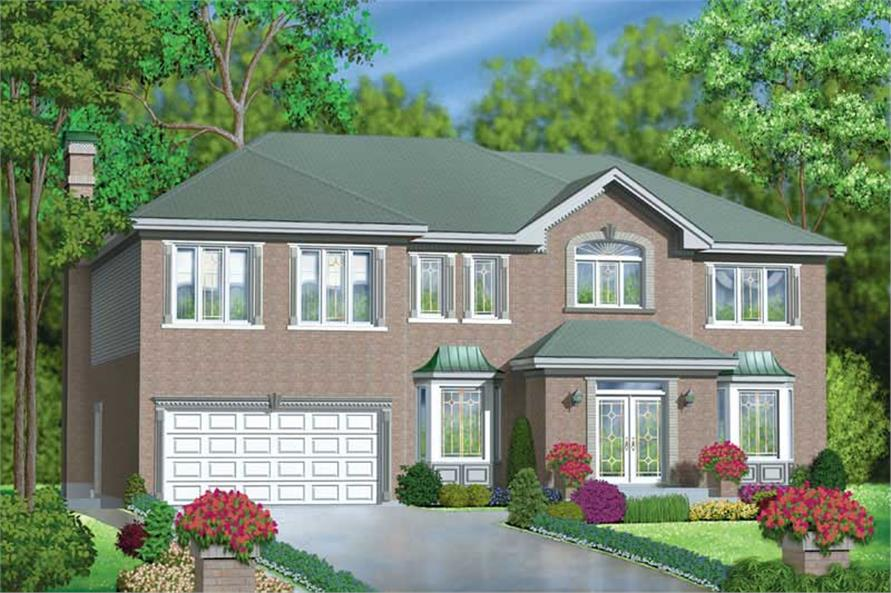 Main image for house plan # 12510